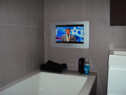 Badezimmer Fernseher - Design