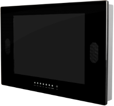 Wand-TV | Wasserdichte Fernseher für Badezimmer, Garten und Sauna ...