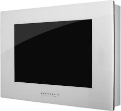 wand tv wasserdichte fernseher f r badezimmer garten und sauna tv badezimmer. Black Bedroom Furniture Sets. Home Design Ideas