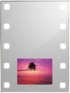 Spiegel mit leds und 17 lcd tv spiegel tv badezimmer for Spiegel mit bildschirm